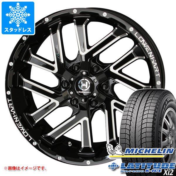 スタッドレスタイヤ ミシュラン ラティチュード エックスアイス XI2 275/55R20 113T & レーベンハート GXL206 8.5-20 タイヤホイール4本セット 275/55-20 MICHELIN LATITUDE X-ICE XI2