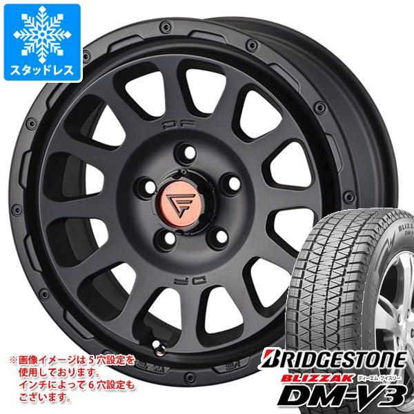 スタッドレスタイヤ ブリヂストン ブリザック DM-V3 215/70R16 100Q & デルタフォース オーバル 7.0-16 タイヤホイール4本セット 215/70-16 BRIDGESTONE BLIZZAK DM-V3