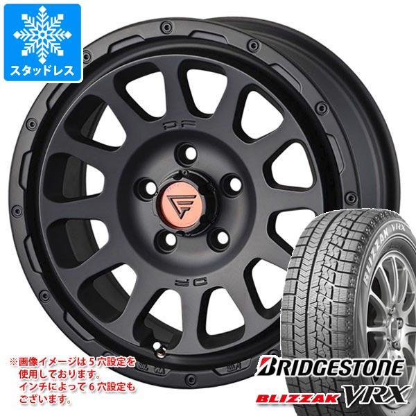 スタッドレスタイヤ ブリヂストン ブリザック VRX 215/60R16 95Q & デルタフォース オーバル 7.0-16 タイヤホイール4本セット 215/60-16 BRIDGESTONE BLIZZAK VRX