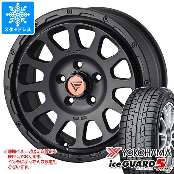 スタッドレスタイヤ ヨコハマ アイスガードファイブ プラス iG50 215/60R16 95Q & デルタフォース オーバル 7.0-16 タイヤホイール4本セット 215/60-16 YOKOHAMA iceGUARD 5 PLUS iG50