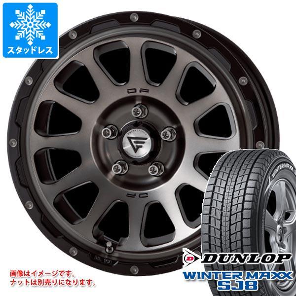 スタッドレスタイヤ ダンロップ ウインターマックス SJ8 215/70R16 100Q & デルタフォース オーバル 7.0-16 タイヤホイール4本セット 215/70-16 DUNLOP WINTER MAXX SJ8