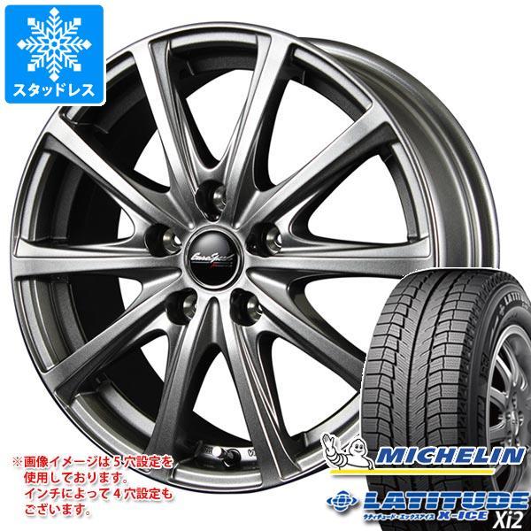 スタッドレスタイヤ ミシュラン ラティチュード エックスアイス XI2 235/70R16 106T & ユーロスピード V25 6.5-16 タイヤホイール4本セット 235/70-16 MICHELIN LATITUDE X-ICE XI2