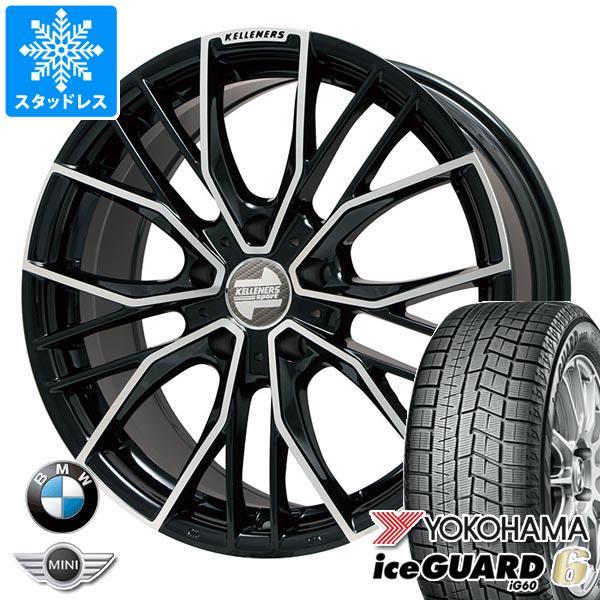 BMW G20 3シリーズ用 スタッドレス ヨコハマ アイスガードシックス iG60 225/40R19 93Q XL ケレナーズ エルツ BP タイヤホイール4本セット