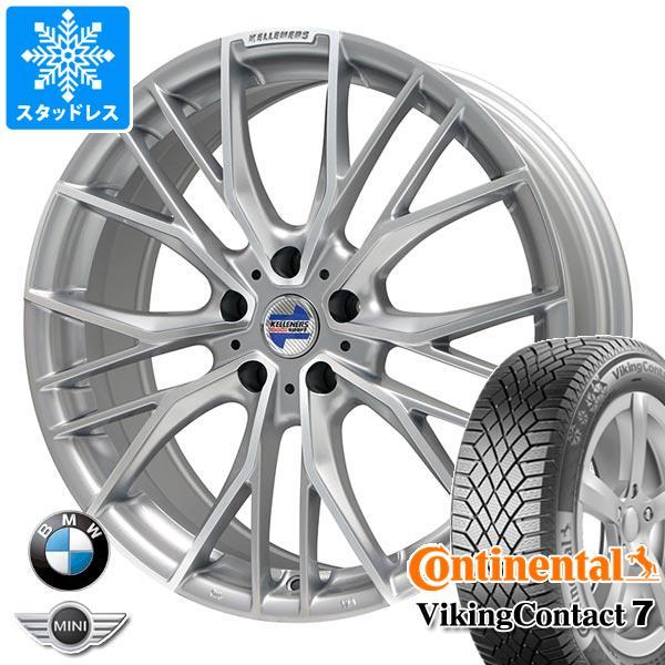 BMW F40 1シリーズ用 スタッドレス コンチネンタル バイキングコンタクト7 225/40R18 92T XL ケレナーズ エルツ SP タイヤホイール4本セット