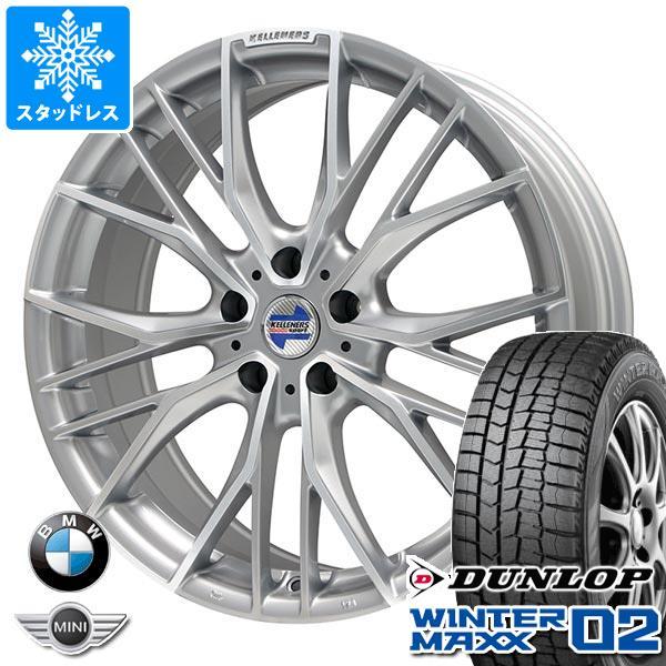 BMW G32 6シリーズ用 スタッドレス ダンロップ ウインターマックス02 WM02 245/45R19 98Q ケレナーズ エルツ SP タイヤホイール4本セット