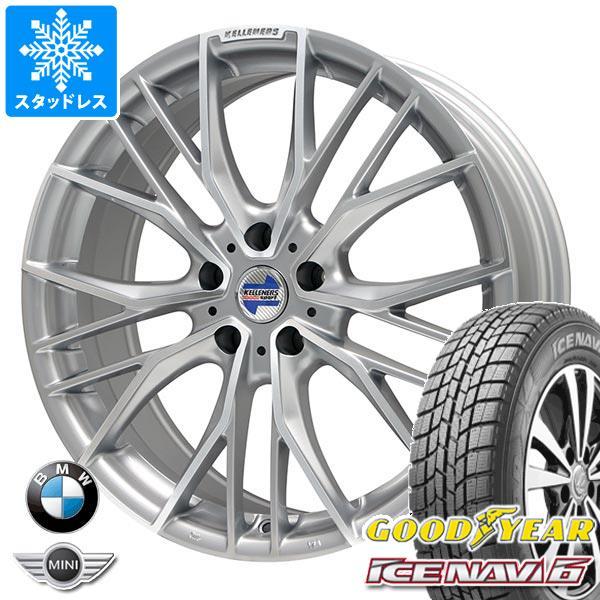 BMW F39 X2用 スタッドレス グッドイヤー アイスナビ6 225/55R17 97Q ケレナーズ エルツ SP タイヤホイール4本セット
