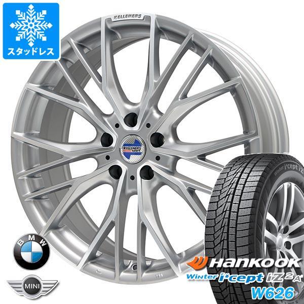 BMW F45/F46 2シリーズ用 スタッドレス ハンコック ウィンターアイセプト IZ2エース W626 205/55R17 95T XL ケレナーズ エルツ SP タイヤホイール4本セット
