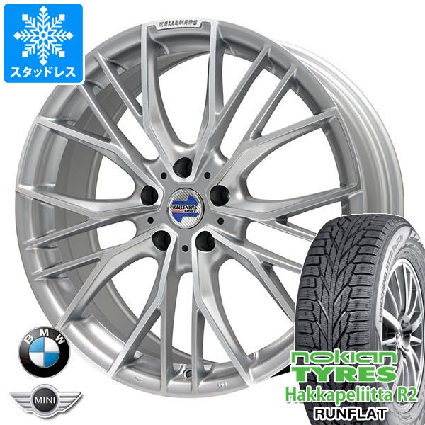 BMW F45/F46 2シリーズ用 スタッドレス ノキアン ハッカペリッタ R2 205/60R16 92R ランフラット ケレナーズ エルツ SP タイヤホイール4本セット
