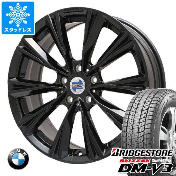 BMW G07 X7用 スタッドレス ブリヂストン ブリザック DM-V3 275/50R20 113Q XL ケレナーズ エックスライン タイヤホイール4本セット