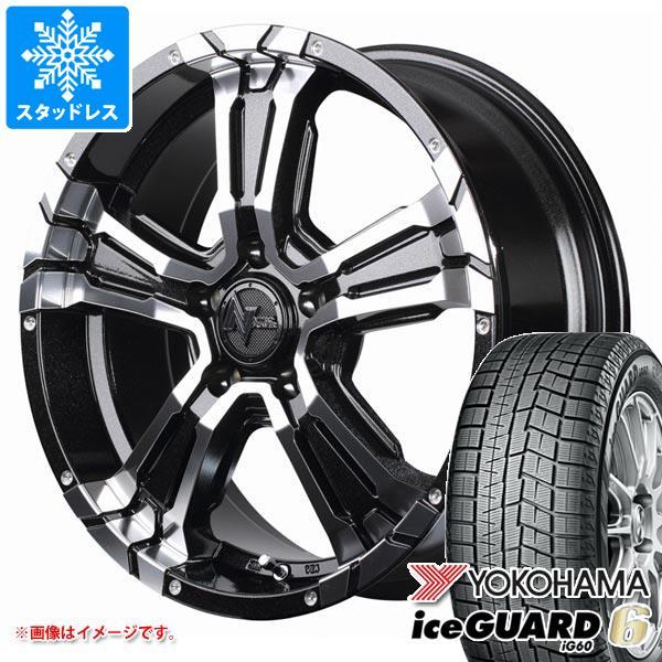 スタッドレスタイヤ ヨコハマ アイスガードシックス iG60 215/60R17 96Q & ナイトロパワー クロスクロウ 7.0-17 タイヤホイール4本セット 215/60-17 YOKOHAMA iceGUARD 6 iG60