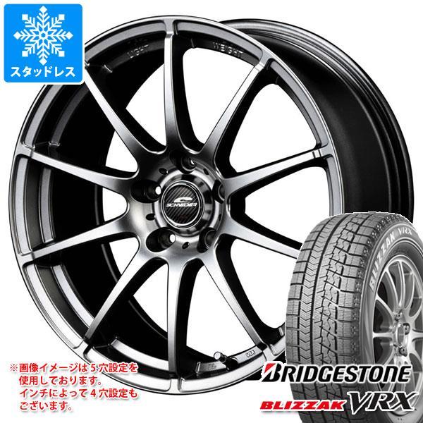 スタッドレスタイヤ ブリヂストン ブリザック VRX 155/65R13 73Q & シュナイダー スタッグ 4.0-13 タイヤホイール4本セット 155/65-13 BRIDGESTONE BLIZZAK VRX