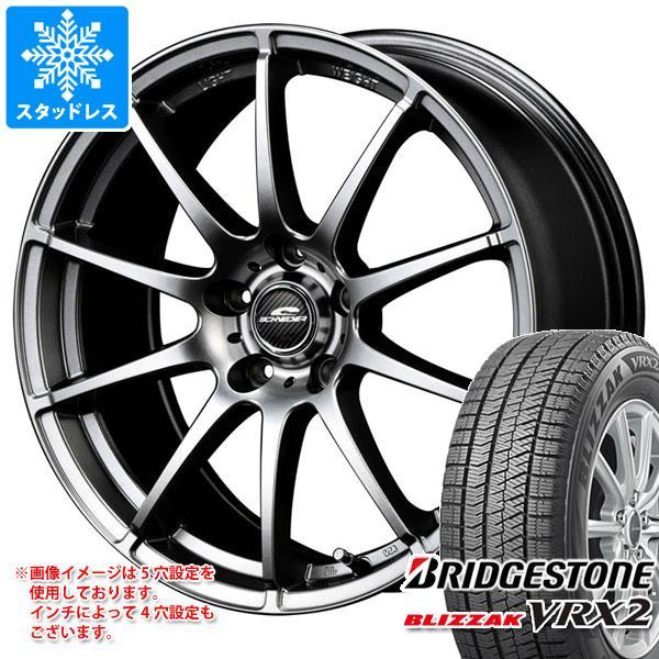 スタッドレスタイヤ ブリヂストン ブリザック VRX2 195/60R16 89Q & シュナイダー スタッグ 6.5-16 タイヤホイール4本セット 195/60-16 BRIDGESTONE BLIZZAK VRX2