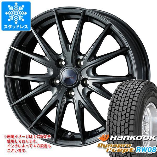 スタッドレスタイヤ ハンコック ダイナプロアイセプト RW08 215/70R16 100Q & ヴェルヴァ スポルト2 6.5-16 タイヤホイール4本セット 215/70-16 HANKOOK Dynapro i cept RW08