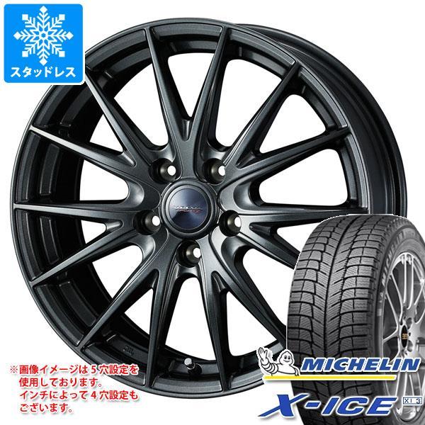 スタッドレスタイヤ ミシュラン エックスアイス XI3 175/70R13 86T XL & ヴェルヴァ スポルト2 5.0-13 タイヤホイール4本セット 175/70-13 MICHELIN X-ICE XI3