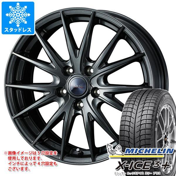 スタッドレスタイヤ ミシュラン エックスアイス3プラス 195/65R15 95T XL & ヴェルヴァ スポルト2 6.0-15 タイヤホイール4本セット 195/65-15 MICHELIN X-ICE3+