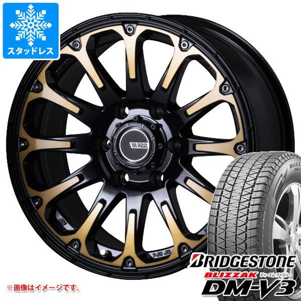 スタッドレスタイヤ ブリヂストン ブリザック DM-V3 265/65R17 112Q & SSR ディバイド FT 8.0-17 タイヤホイール4本セット 265/65-17 BRIDGESTONE BLIZZAK DM-V3