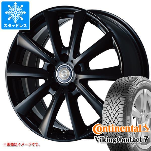 MINI ミニ R56用 スタッドレス コンチネンタル バイキングコンタクト7 195/55R16 91T XL チームスパルコ ヴァローザ タイヤホイール4本セット