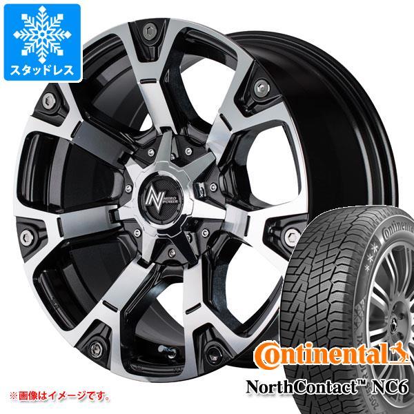 スタッドレスタイヤ コンチネンタル ノースコンタクト NC6 215/60R17 96T & ナイトロパワー ウォーヘッド 7.0-17 タイヤホイール4本セット 215/60-17 CONTINENTAL NorthContact NC6