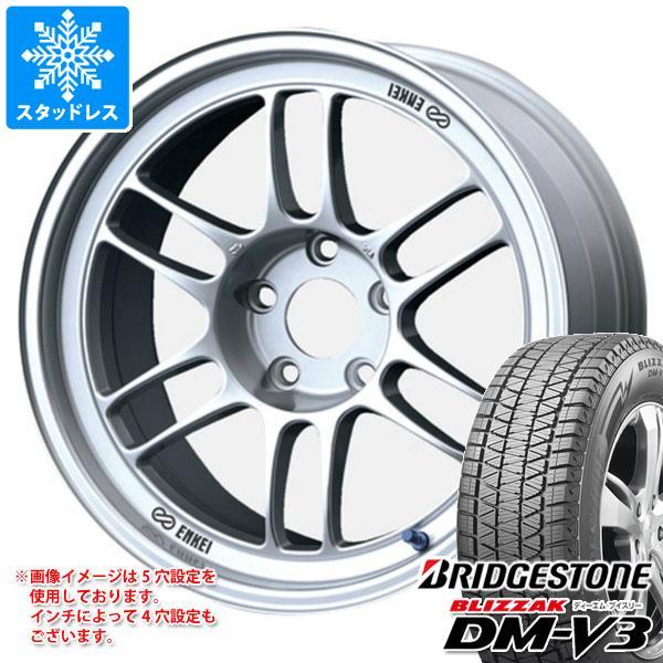 スタッドレスタイヤ ブリヂストン ブリザック DM-V3 235/65R18 106Q & エンケイ レーシング RPF1 7.5-18 タイヤホイール4本セット 235/65-18 BRIDGESTONE BLIZZAK DM-V3