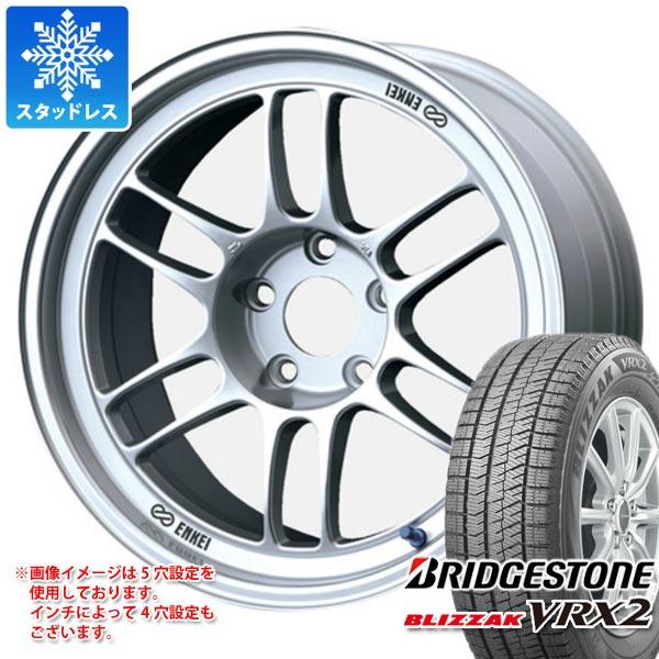 スタッドレスタイヤ ブリヂストン ブリザック VRX2 195/65R16 92Q & ENKEI エンケイ レーシング RPF1 7.0-16 タイヤホイール4本セット 195/65-16 BRIDGESTONE BLIZZAK VRX2