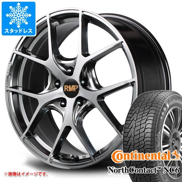 スタッドレスタイヤ コンチネンタル ノースコンタクト NC6 235/60R18 107T XL & RMP 025F 8.0-18 タイヤホイール4本セット 235/60-18 CONTINENTAL NorthContact NC6