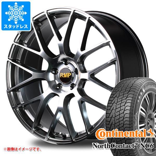 スタッドレスタイヤ コンチネンタル ノースコンタクト NC6 245/45R18 100T XL & RMP 028F 8.0-18 タイヤホイール4本セット 245/45-18 CONTINENTAL NorthContact NC6