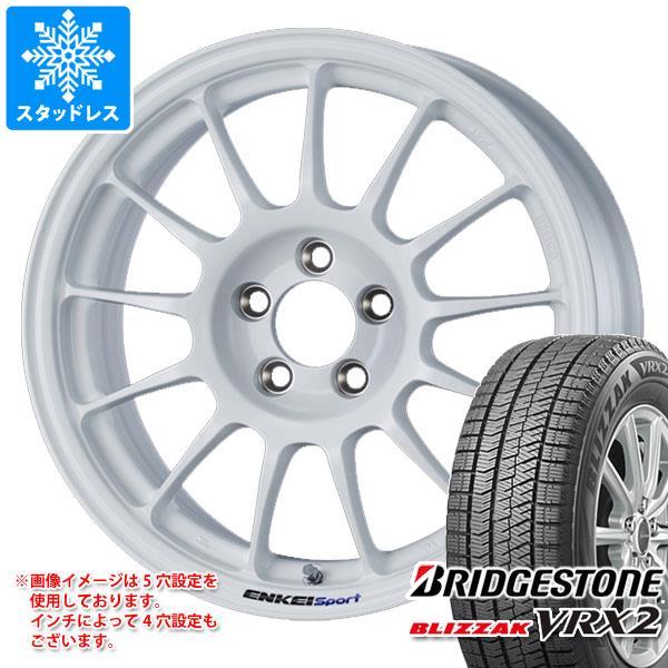 スタッドレスタイヤ ブリヂストン ブリザック VRX2 205/50R16 87Q & エンケイ スポーツ RC-T5 7.0-16 タイヤホイール4本セット 205/50-16 BRIDGESTONE BLIZZAK VRX2