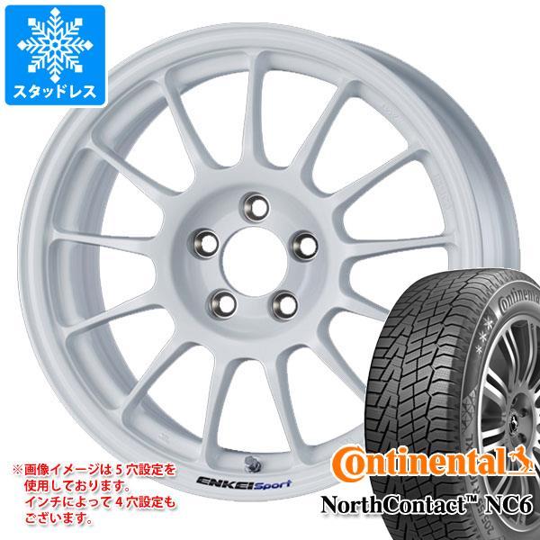 スタッドレスタイヤ コンチネンタル ノースコンタクト NC6 215/65R16 102T XL & ENKEI エンケイスポーツ RC-T5 7.0-16 タイヤホイール4本セット 215/65-16 CONTINENTAL NorthContact NC6