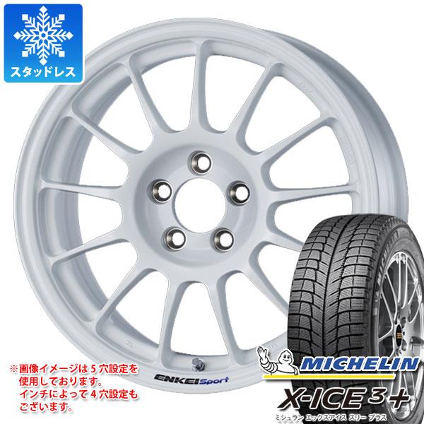 スタッドレスタイヤ ミシュラン エックスアイス3プラス 225/55R16 99H XL & エンケイ スポーツ RC-T5 7.0-16 タイヤホイール4本セット 225/55-16 MICHELIN X-ICE3+