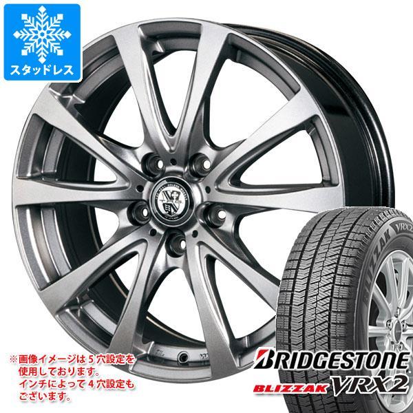スタッドレスタイヤ ブリヂストン ブリザック VRX2 235/50R18 97Q & TRG バーン 8.0-18 タイヤホイール4本セット 235/50-18 BRIDGESTONE BLIZZAK VRX2