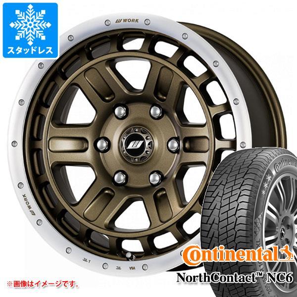 スタッドレスタイヤ コンチネンタル ノースコンタクト NC6 215/65R16 102T XL & クラッグ T-グラビック 2 7.0-16 タイヤホイール4本セット 215/65-16 CONTINENTAL NorthContact NC6