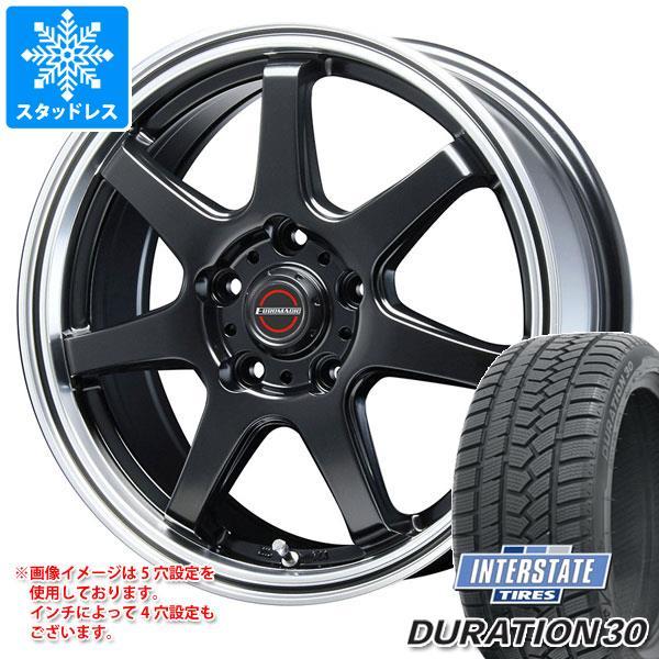 スタッドレスタイヤ インターステート デュレーション30 205/60R16 92H & ブレスト ユーロマジック タイプ S-07 6.5-16 タイヤホイール4本セット 205/60-16 INTERSTATE DURATION 30
