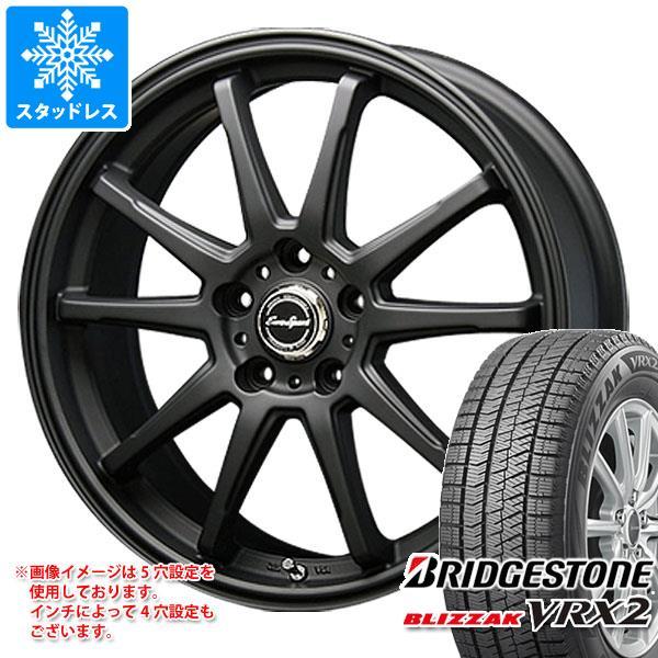 スタッドレスタイヤ ブリヂストン ブリザック VRX2 235/45R17 94Q & ブレスト ユーロスポーツ タイプSS-01 8.0-17 タイヤホイール4本セット 235/45-17 BRIDGESTONE BLIZZAK VRX2