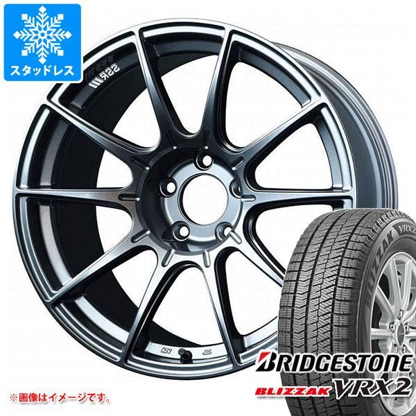 スタッドレスタイヤ ブリヂストン ブリザック VRX2 245/40R18 93Q & SSR GTX01 8.5-18 タイヤホイール4本セット 245/40-18 BRIDGESTONE BLIZZAK VRX2