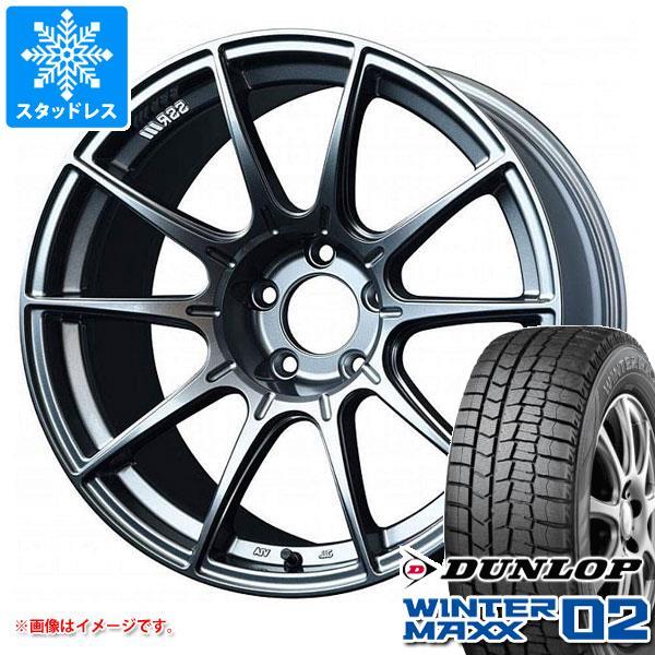 スタッドレスタイヤ ダンロップ ウインターマックス02 WM02 175/60R16 82Q & SSR GTX01 6.5-16 タイヤホイール4本セット 175/60-16 DUNLOP WINTER MAXX 02 WM02