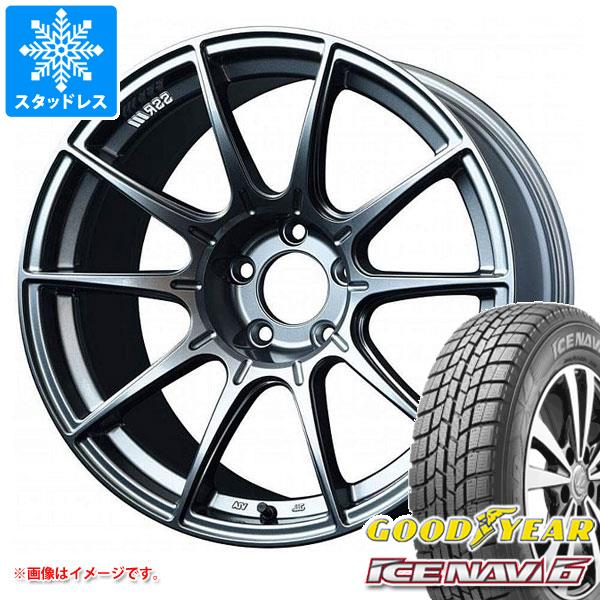 スタッドレスタイヤ グッドイヤー アイスナビ6 185/65R15 88Q & SSR GTX01 タイヤホイール4本セット 185/65-15 GOODYEAR ICE NAVI 6