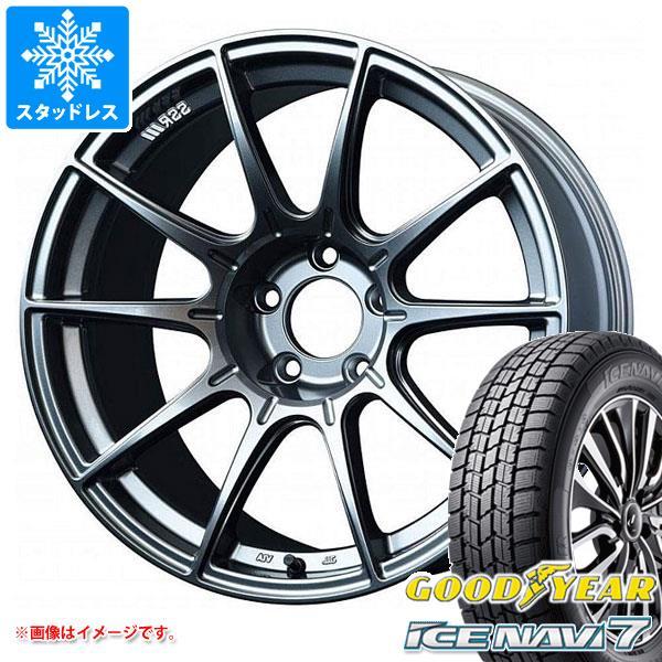 スタッドレスタイヤ グッドイヤー アイスナビ7 225/40R18 88Q & SSR GTX01 7.5-18 タイヤホイール4本セット 225/40-18 GOODYEAR ICE NAVI 7
