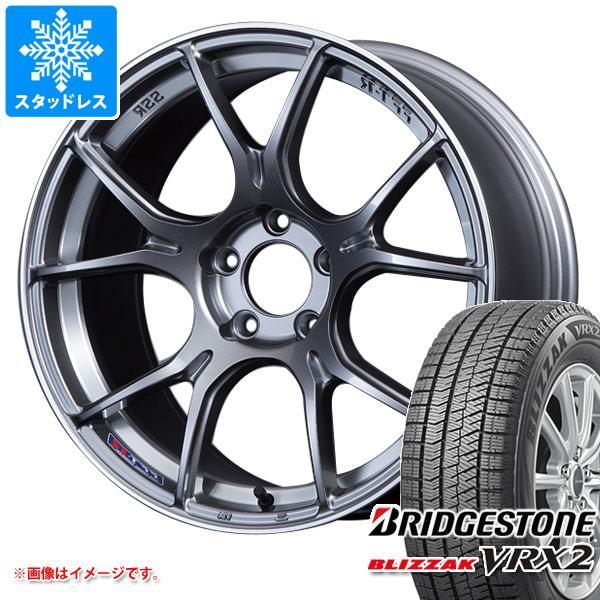 スタッドレスタイヤ ブリヂストン ブリザック VRX2 235/40R19 92Q & SSR GTX02 8.5-19 タイヤホイール4本セット 235/40-19 BRIDGESTONE BLIZZAK VRX2