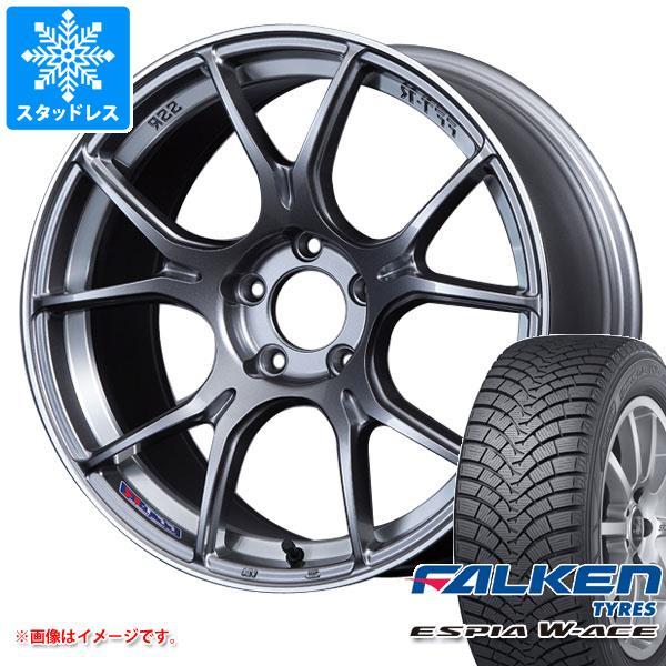 スタッドレスタイヤ ファルケン エスピア ダブルエース 175/60R16 82H & SSR GTX02 6.5-16 タイヤホイール4本セット 175/60-16 FALKEN ESPIA W-ACE