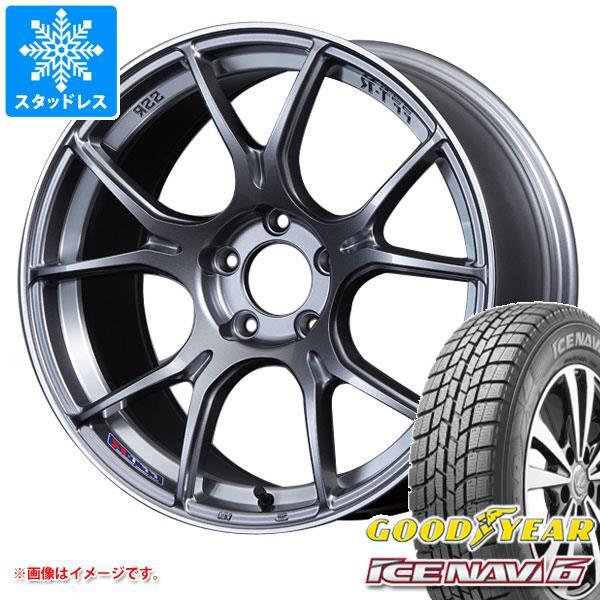 スタッドレスタイヤ グッドイヤー アイスナビ6 225/55R17 97Q & SSR GTX02 7.0-17 タイヤホイール4本セット 225/55-17 GOODYEAR ICE NAVI 6