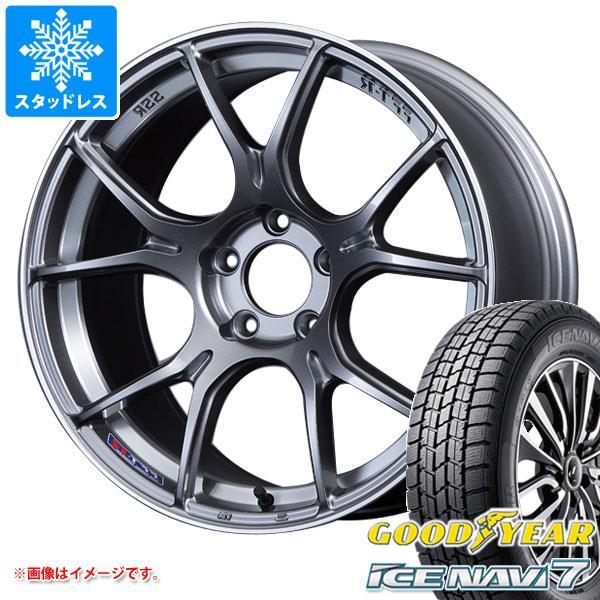 スタッドレスタイヤ グッドイヤー アイスナビ7 175/60R16 82Q & SSR GTX02 6.5-16 タイヤホイール4本セット 175/60-16 GOODYEAR ICE NAVI 7