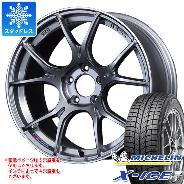 スタッドレスタイヤ ミシュラン エックスアイス XI3 245/40R19 98H XL & SSR GTX02 8.5-19 タイヤホイール4本セット 245/40-19 MICHELIN X-ICE XI3