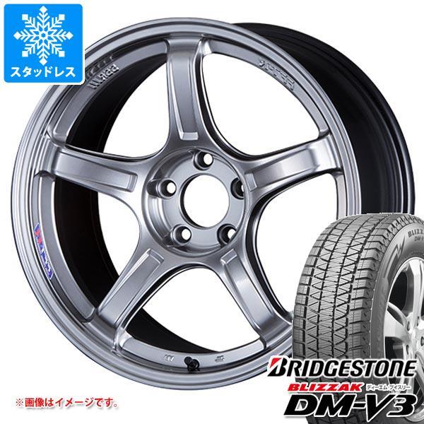 スタッドレスタイヤ ブリヂストン ブリザック DM-V3 235/55R19 105Q XL & SSR GTX03 8.5-19 タイヤホイール4本セット 235/55-19 BRIDGESTONE BLIZZAK DM-V3