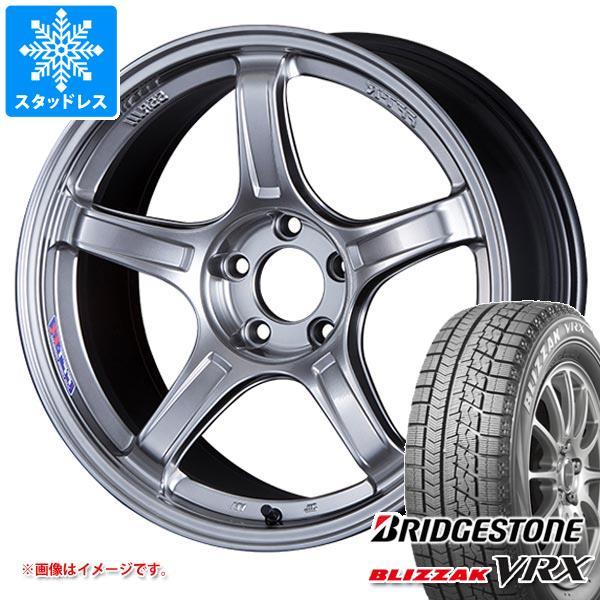 スタッドレスタイヤ ブリヂストン ブリザック VRX 175/60R16 82Q & SSR GTX03 6.5-16 タイヤホイール4本セット 175/60-16 BRIDGESTONE BLIZZAK VRX