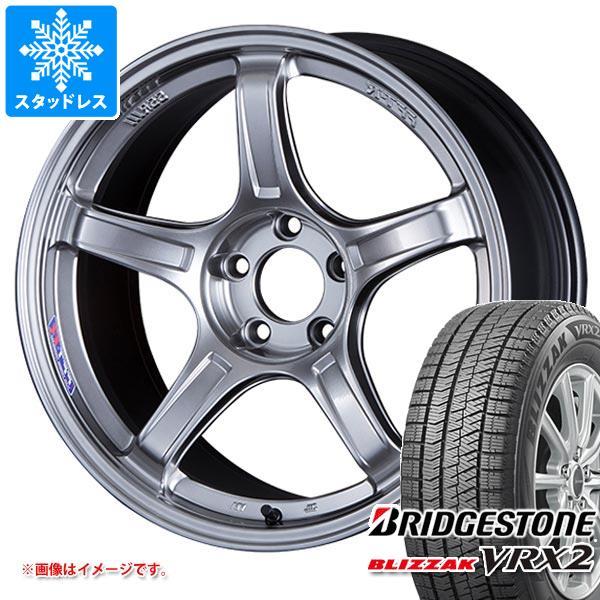 スタッドレスタイヤ ブリヂストン ブリザック VRX2 215/45R17 87Q & SSR GTX03 7.0-17 タイヤホイール4本セット 215/45-17 BRIDGESTONE BLIZZAK VRX2