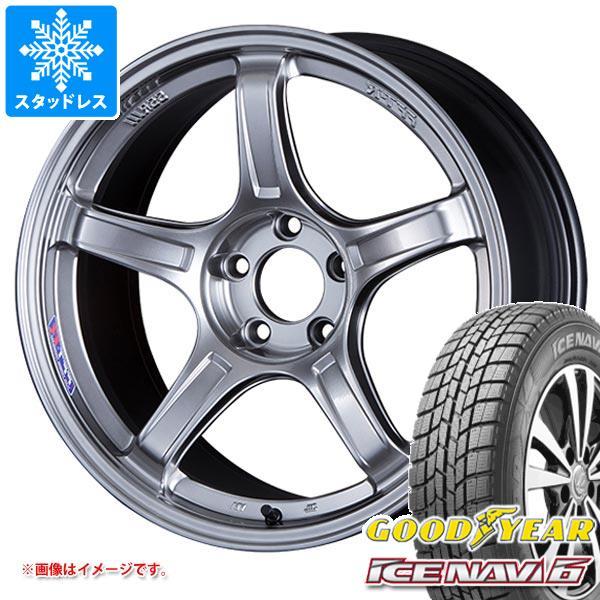 スタッドレスタイヤ グッドイヤー アイスナビ6 175/60R16 82Q & SSR GTX03 6.5-16 タイヤホイール4本セット 175/60-16 GOODYEAR ICE NAVI 6