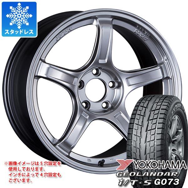 スタッドレスタイヤ ヨコハマ ジオランダー I/T-S G073 215/60R17 96Q & SSR GTX03 7.0-17 タイヤホイール4本セット 215/60-17 YOKOHAMA GEOLANDAR I/T-S G073
