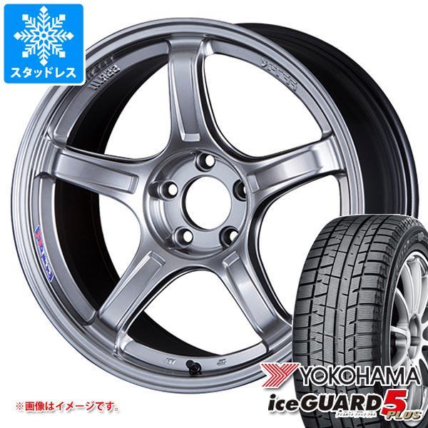 スタッドレスタイヤ ヨコハマ アイスガードファイブ プラス iG50 225/55R17 97Q & SSR GTX03 7.0-17 タイヤホイール4本セット 225/55-17 YOKOHAMA iceGUARD 5 PLUS iG50