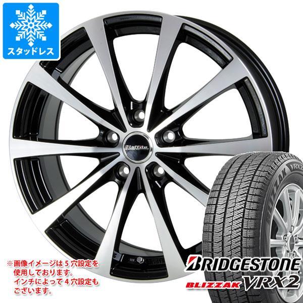 スタッドレスタイヤ ブリヂストン ブリザック VRX2 235/45R18 94Q & ラフィット LE-03 7.5-18 タイヤホイール4本セット 235/45-18 BRIDGESTONE BLIZZAK VRX2