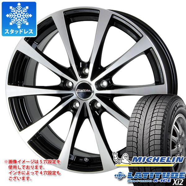 スタッドレスタイヤ ミシュラン ラティチュード エックスアイス XI2 235/65R18 106T & ラフィット LE-03 7.5-18 タイヤホイール4本セット 235/65-18 MICHELIN LATITUDE X-ICE XI2